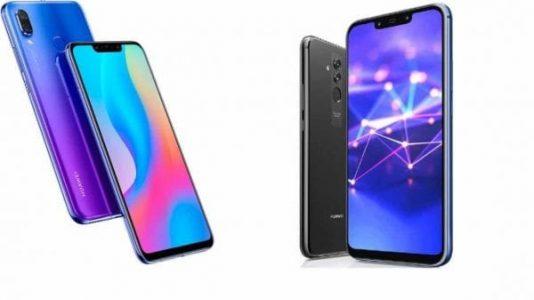 huawe Nova 3i Vs Huawei Mate 20 Lite