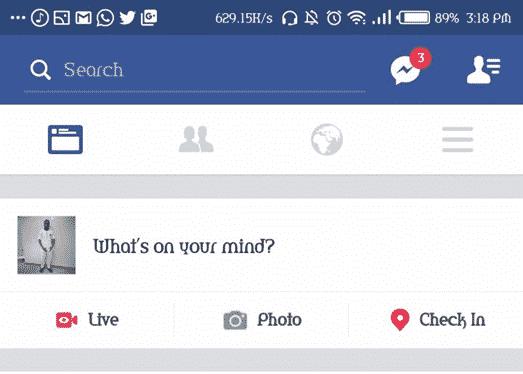 start facebook live video