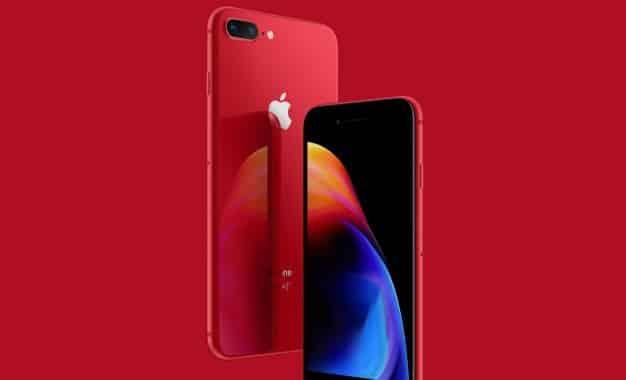 iphone 8 red design