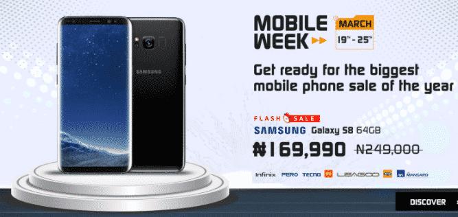 jumia mobile week 2018 flash sales